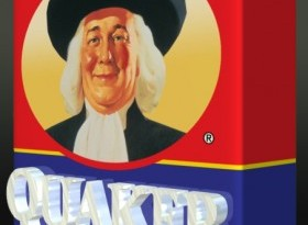 Holographic Display - Quaker Oats